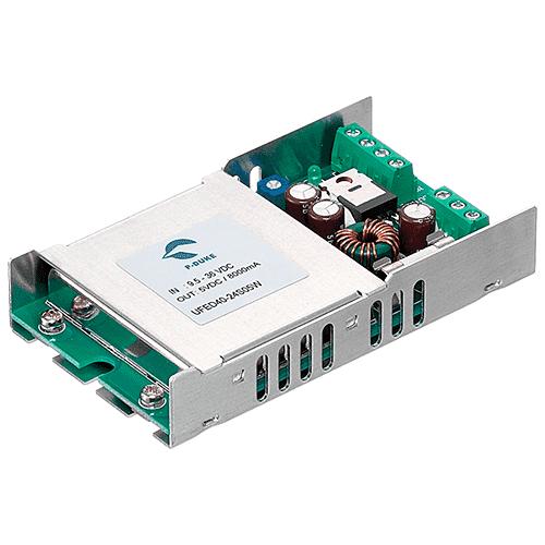 UFED40W - DC/DC Converter Single & Dual Output: 40W 3.3V, 5V, 12V, 15, 24V±12, ±15 or ±24 output voltage options