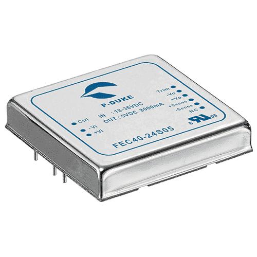 DLP-FEC60 - DC/DC Single Output: 60W 24V & 48V Input Options
