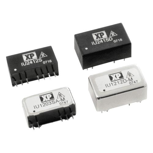 RC-IU - DC/DC Regulated Single & Dual Output: 2W