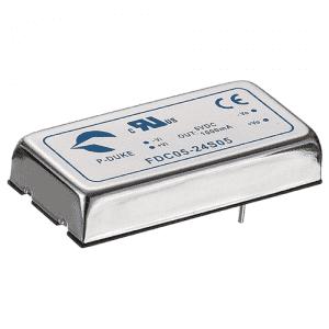 SLP-FDC05 - DC/DC  Converter Single & Dual Output: 5W