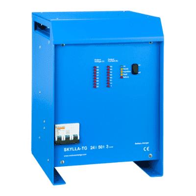 SKYLLA-TG-CHARGER - 24/48V Modern Battery Charger