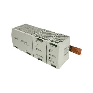 DNR SERIES AC/DC Rail Din Power Supply up to 480 W - Suitable for battery charging