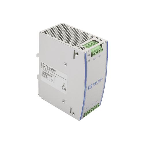 DSA-DP20 - 24VDC 20A Redundancy Module Din Rail - Diode 24 V