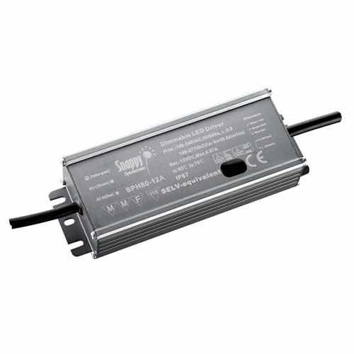 LLIP20-SPH80 - Constant Voltage / Constant Current IP65 LED Power Supplies 80W