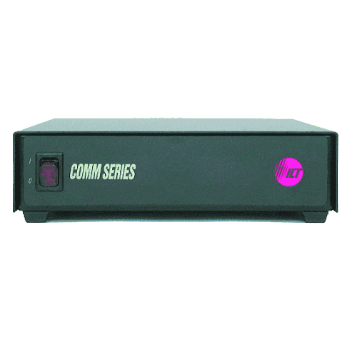Comm Series power supplies are available in 120 and 220 VAC inputs with 12, 24, and 48 VDC outputs, providing 70W to 625W of continuous power