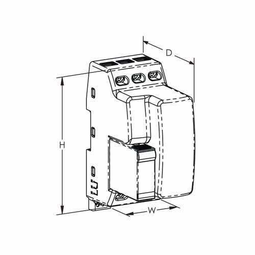 tsf20a240v - transient surge filter 240 v un 20a