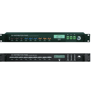DC DISTRIBUTION PANEL Available for 12, 24, or -48VDC 180 amp peak system current