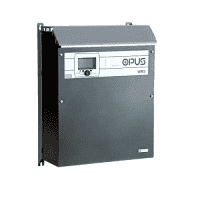 OPUS WRS is wall-mounted charging rectifier for industrial market applications. 24V 48V 60V 110V 220V
