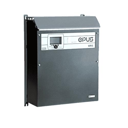 OPUS WRS is wall-mounted charging rectifier for industrial market applications. 24V 48V 60V 110V 220V