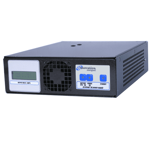DC UPS / Battery Charger 500W 12V 24V 30V 48V output voltage SNMP Modbus