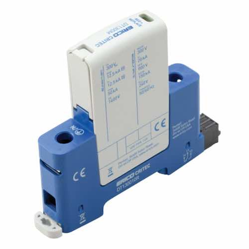 DT1 DIN Rail Surge Protection Class I+II, 1+0 Mode