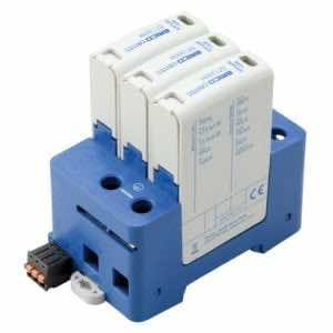 DT1 DIN Rail Surge Protection Class I+II-3+0 ModeDT130030R