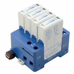 DT1 DIN Rail Surge Protection Class I+II