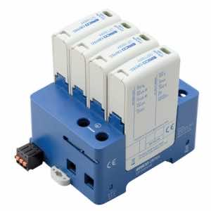 DT230031R Surge Protection for distribution board three phase 50kA, 8/20µs, per phase.