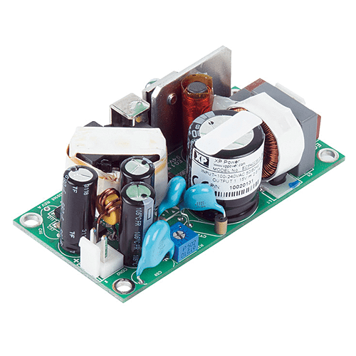 Open Frame ECF40 Series AC-DC Power Supplies 40 Watts - Helios Power Solutions New Zealand - XP Power New Zealand Distributor