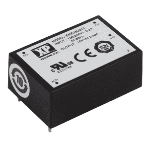 EME05 Series AC/DC Power Supplies 5 W - XP Power Distributor - Helios Power Solutions