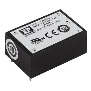 EME05 Series AC/DC Power Supplies 5 W - XP Power Distributor - Helios Power Solutions