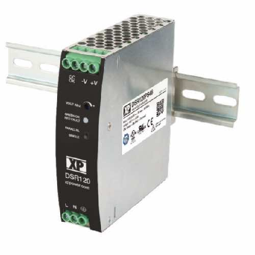 DSR75 Series Ultra-Slim AC/DC DIN Rail Power Supplies 75 W