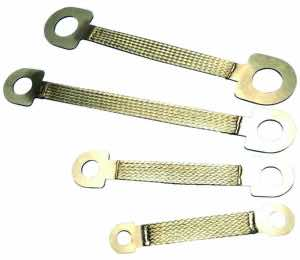 CPIW Grounding and Bonding Braid, Stainless Steel for Large Bolts - Outdoor Applications - New Zealand