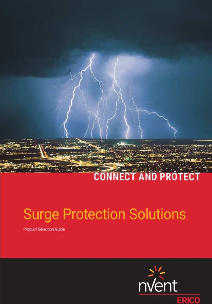 Surge Protection - Product Selection Guide - nVent - Erico - Helios Power Solutions - New Zealand