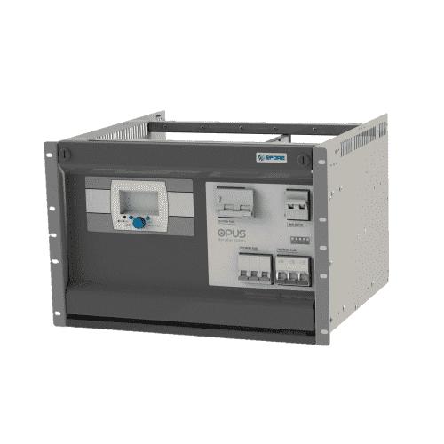 7U Opus Modular Battery Charger - Efore 24V 48V 60V 110V 125V 220V