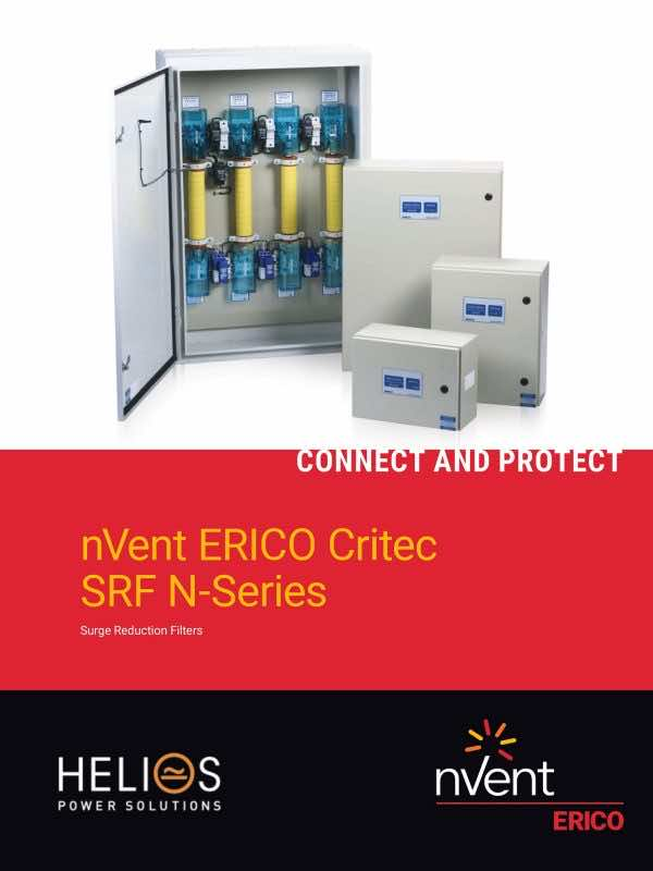 nVent Erico Critec SRF N-Series - Surge Reduction Filters