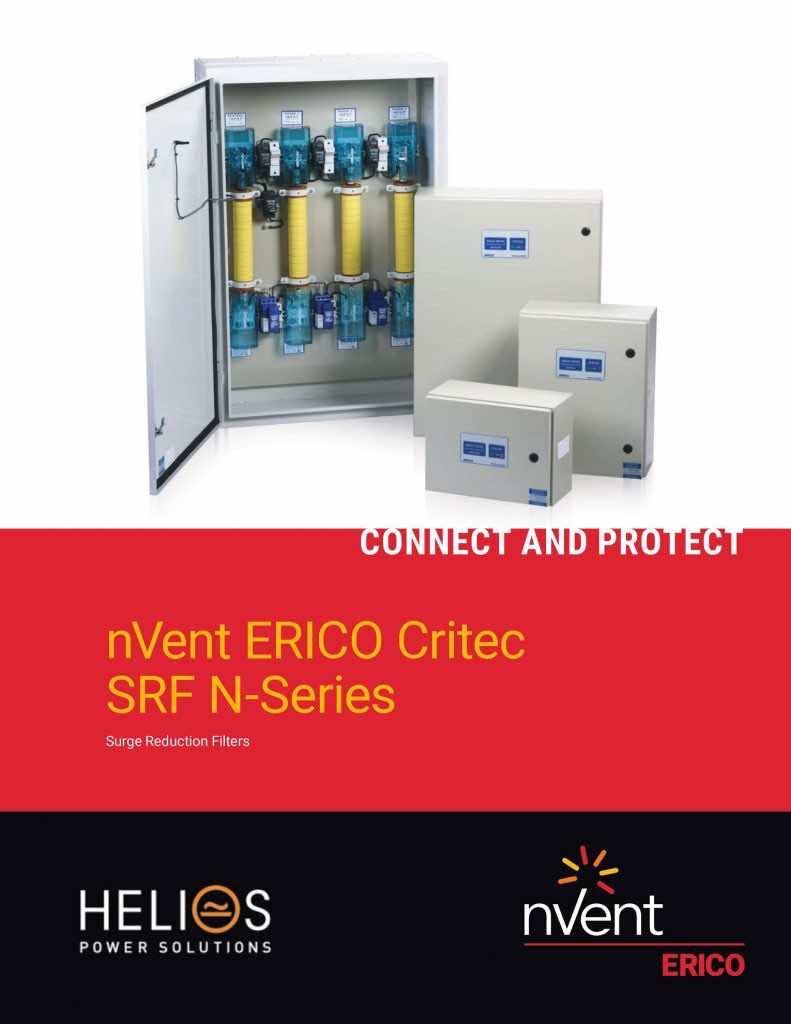 nVent Erico Critec SRF N-Series - Surge Reduction Filters