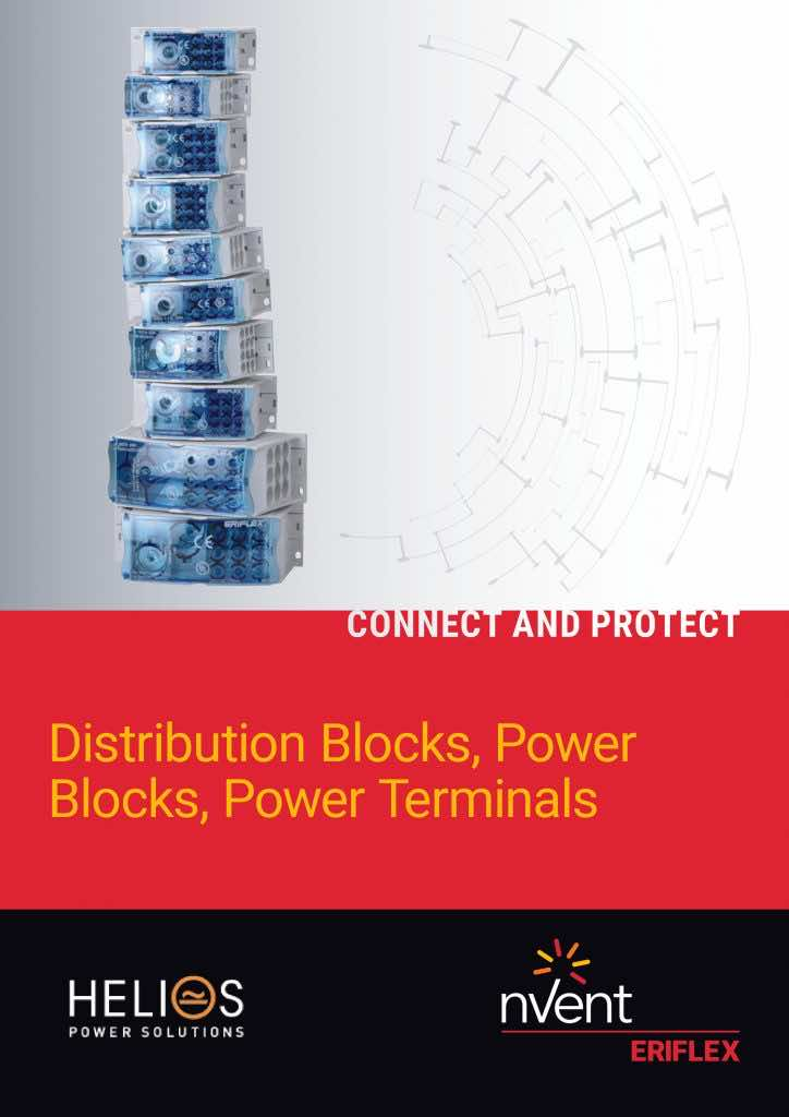 Distribution Blocks Power Blocks Power Terminal 100A 160A 250A 400A 500A 630A 800A 1000A 1250A