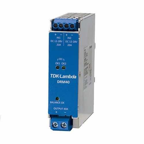 DRM40 DIN Rail Mount Redundancy Module 20A & 40A
