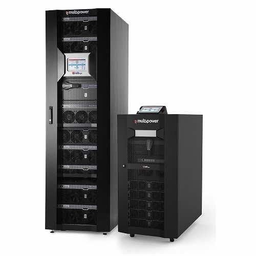 Modular Three Phase Uninterruptible Power Supply and Batteries Riello UPS