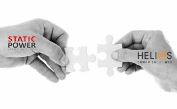 Static Power Partnership Agreement Announcement Helios power Solutions New Zealand