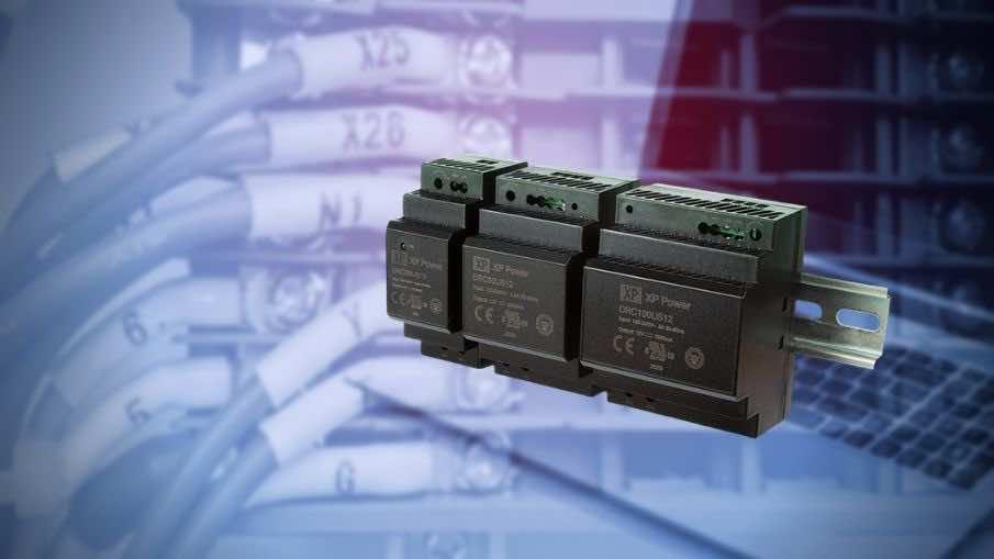 DRC Low-Cost DIN-Rail DC Power Supply 5V, 12V, 24V, 48V output voltage